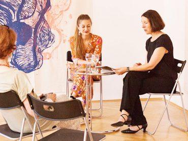 Podiumsdiskussion mit Maria Christine Holter