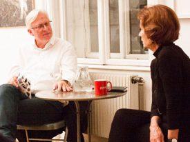 """""""ZEIT UND EMPFINDUNG"""" – Carl Aigner im Gespräch mit Marielis Seyler"""
