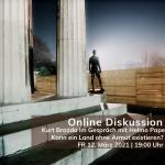 Online Podiumsdiskussion mit Helmo Pape: Kann ein Land ohne Armut funktionieren? Der Weg zum Grundeinkommen